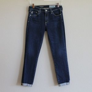 AG | The Prima Roll-Up Cigarette Skinny Jeans 27